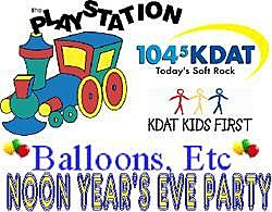 KDAT NOON YEAR EVE Balloons etc
