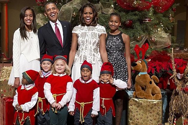 Obama Christmas Funny Pic