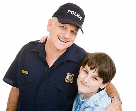 Police With Kid