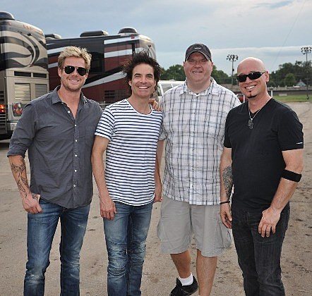 KDAT's Tim Graves with Train