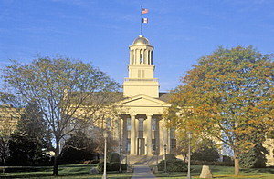 Old State Capitol of Iowa, Iowa City, Iowa