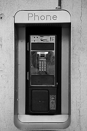 Disabled Pay Phone